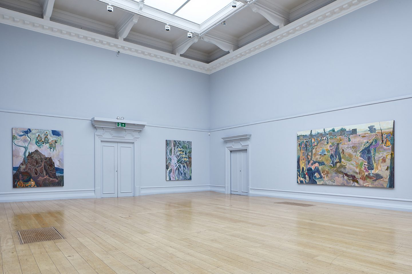 Michael Armitage, The Chapel, installation view at the South London Gallery, 2017. Photo Andy Stagg