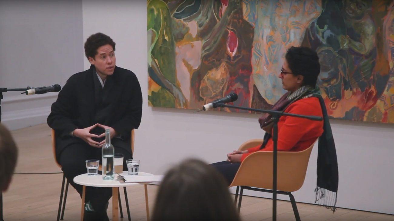 Michael Armitage discusses his exhibition with Sandhini Poddar