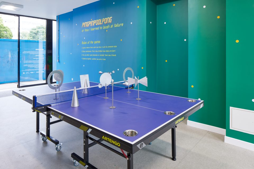 BASIM MAGDY: PINGPINPOOLPONG, or How I Learned to Laugh at Failure