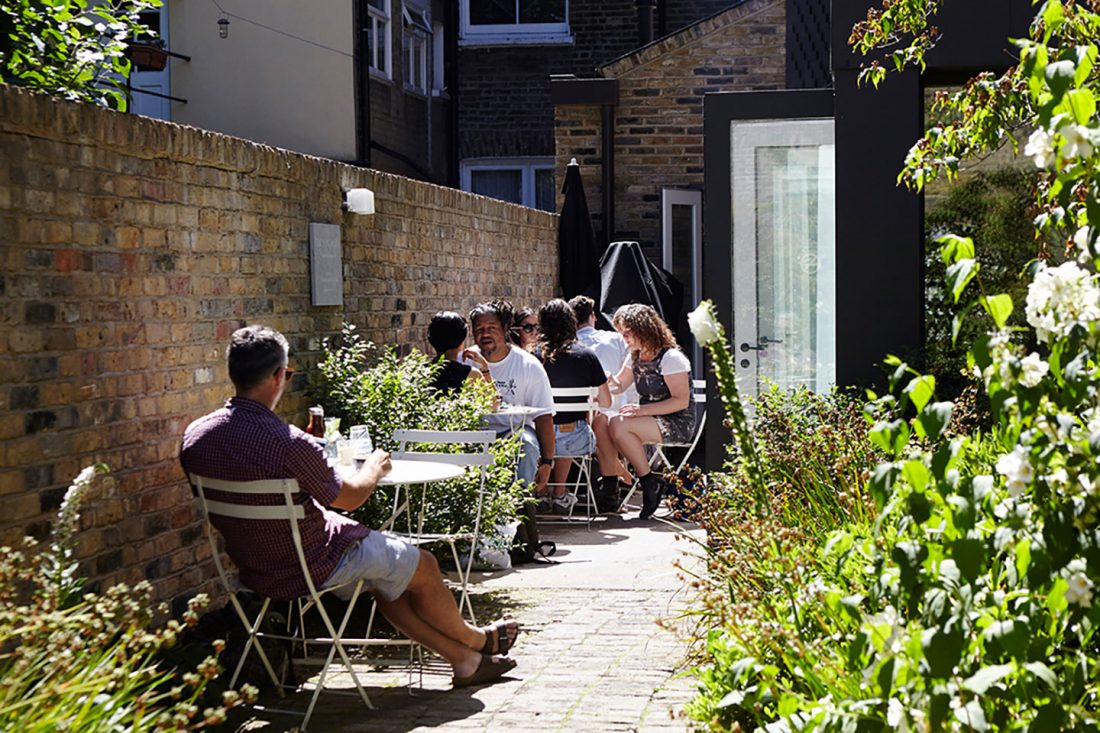 <p>The Habit café at the SLG. Photo: River Thompson.</p>