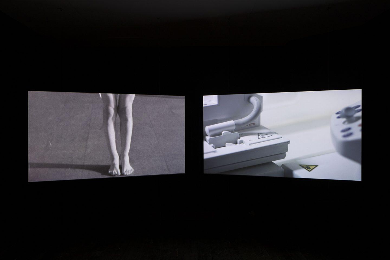 Installation view of Ilona Sagar, Correspondence O, South London Gallery, 2017.