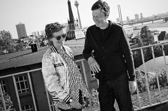Katharina Grosse and Stefan Schneider: Tiergarten