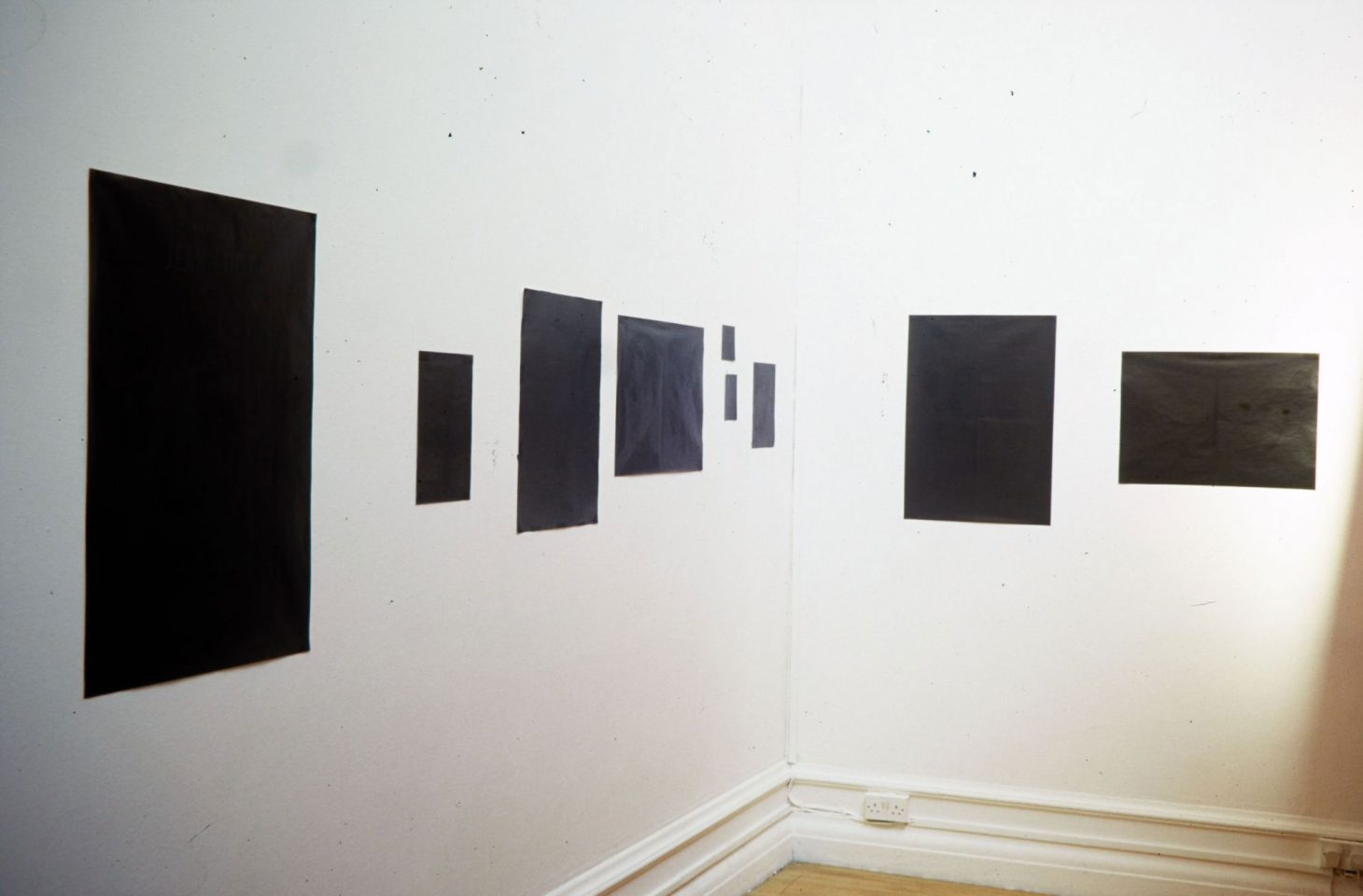 Installation view from Because a Fire Was in My Head.