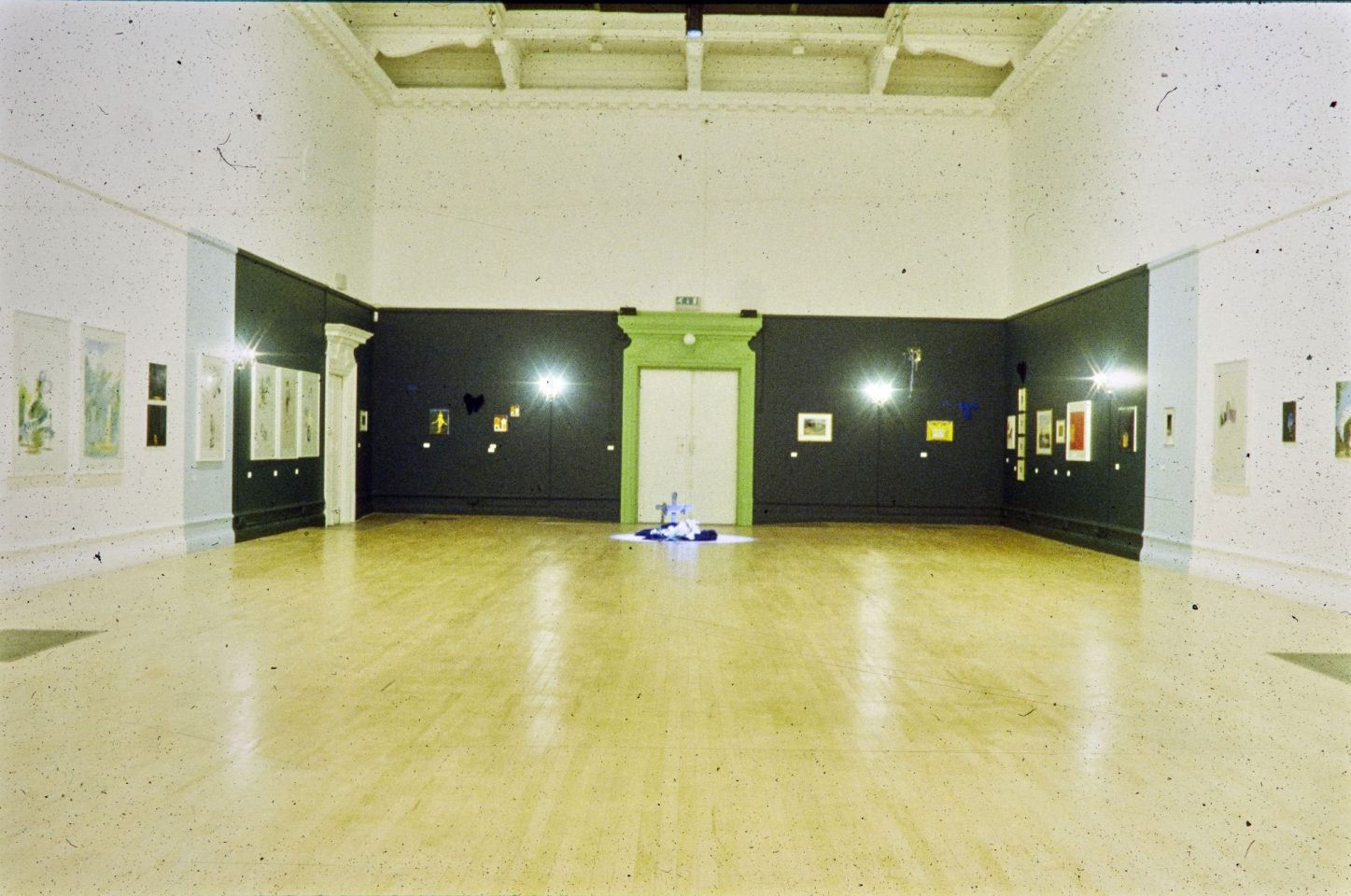 Installation view of Karen Kilimnik's 2000 Solo Exhibition.