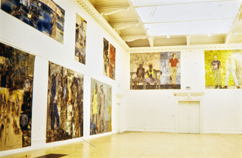Installation view from Leon Golub's Solo Exhibition.