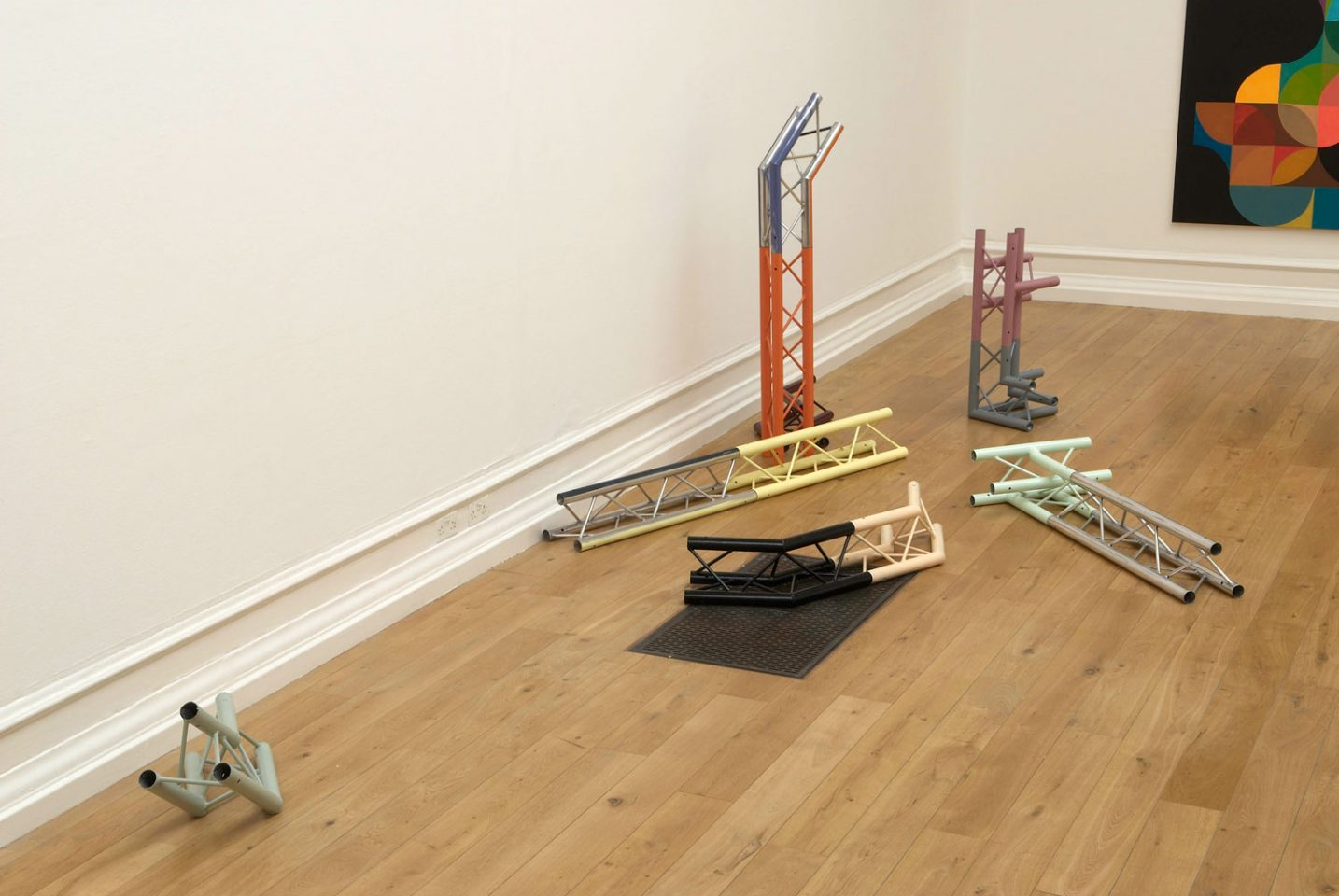 Installation view of Games & Theory, 2008. Photo: Andy Keate