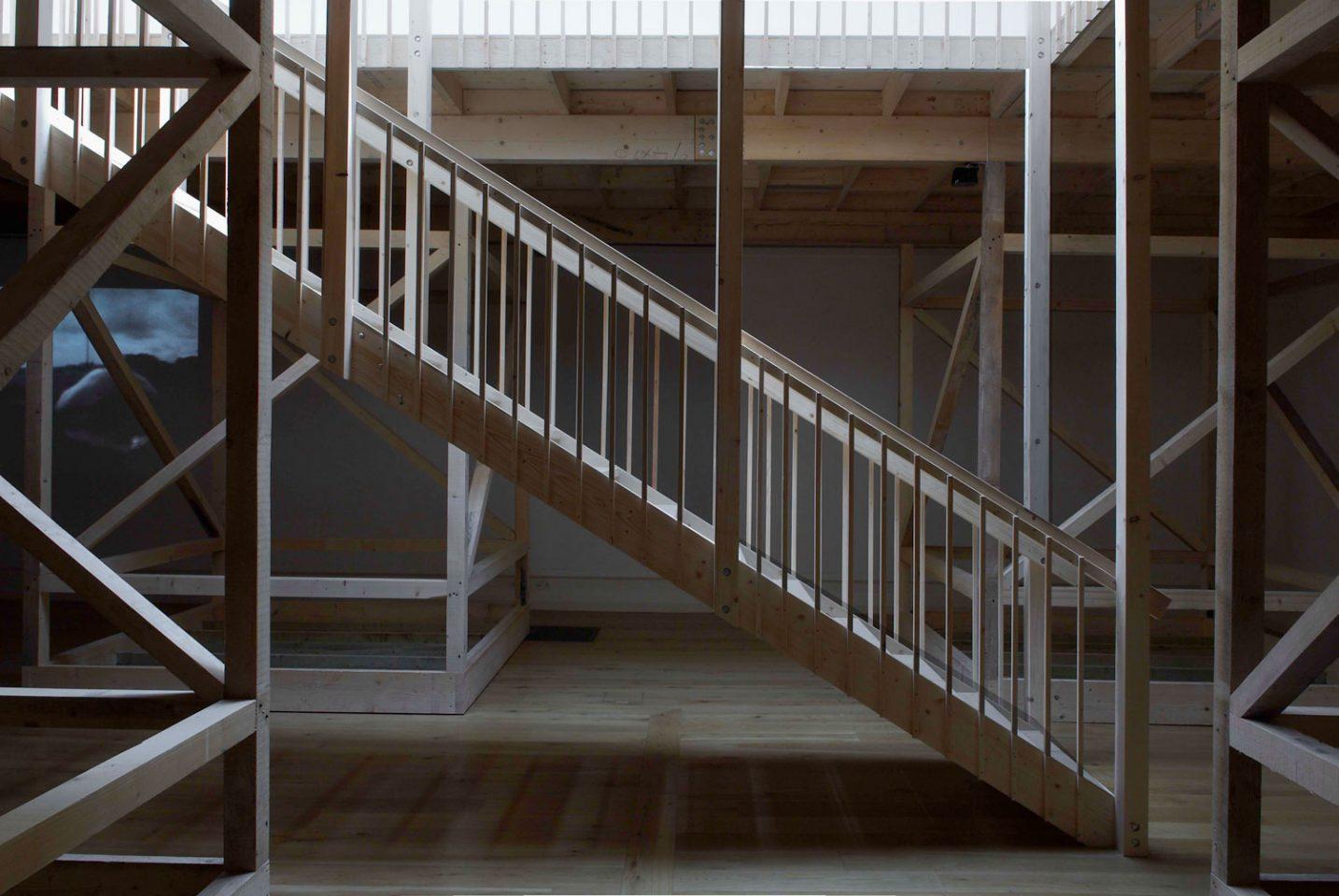 Installation view from Rivane Neuenschwander's 2008 exhibition, Suspension Point. Photo: Andy Keate