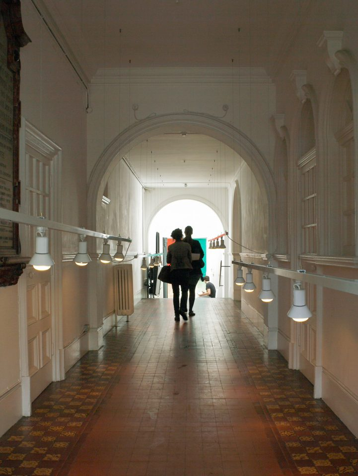 Installation view of the Main Galleries for Beyond These Walls, 2009. Photo: Andy Stagg