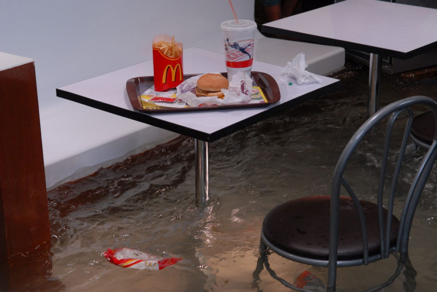 Superflex: Flooded McDonald's