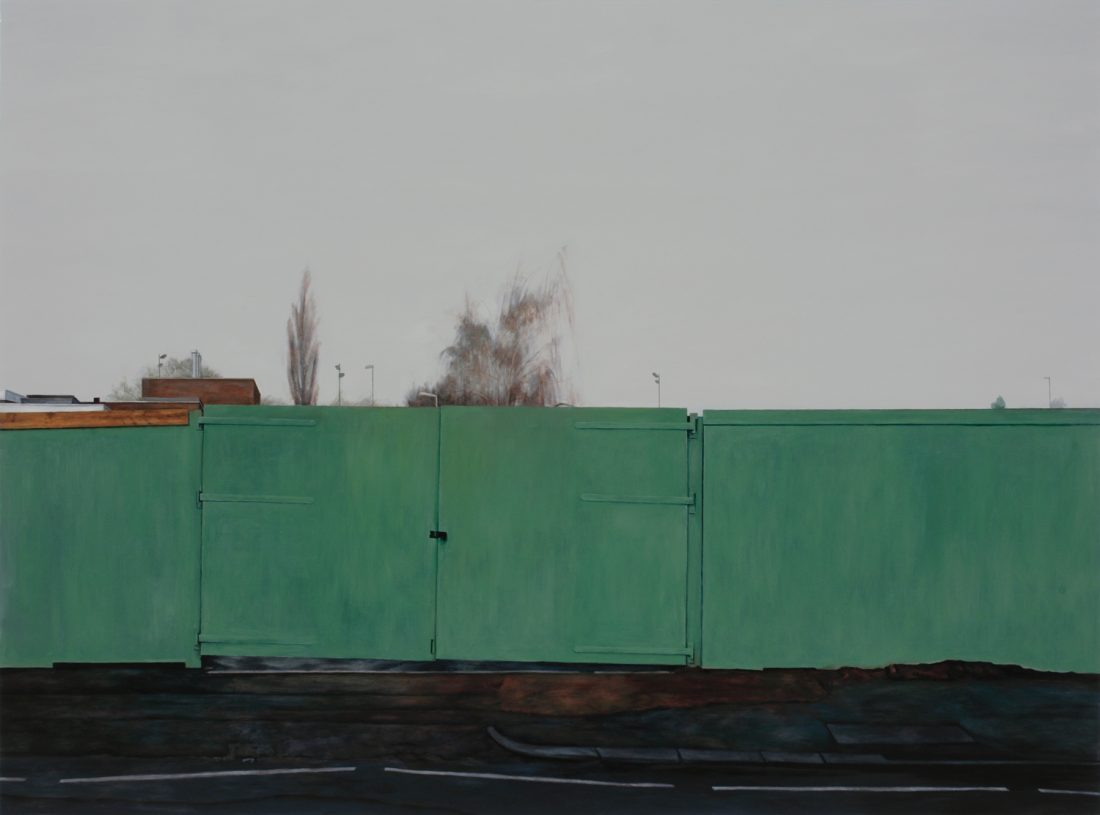 <p>George Shaw,<em> No Returns</em>, 2009. Copyright: the artist and Wilkinson Gallery, London.</p>