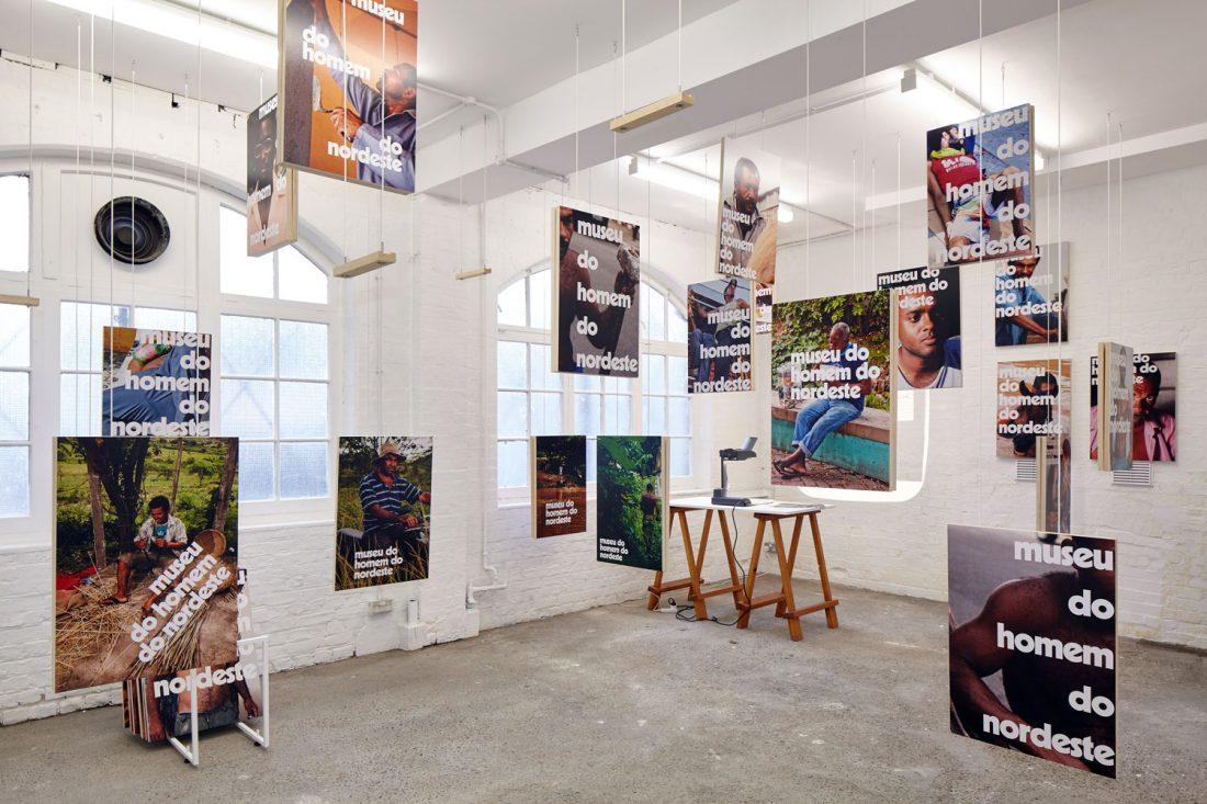 <p>Installation view of Jonathas de Andrade's, <em>Posters for the Museum of the Man of the Northeast (Cartazes para o </em>museu<em> do </em>homem<em> do </em>nordeste<em>)</em>, 2013 as part of <em>Under the Same Sun: Art from Latin America Today.</em>Courtesy: Solomon R. Guggenheim Foundation and the South London Gallery. Photo: Andy Stagg</p>