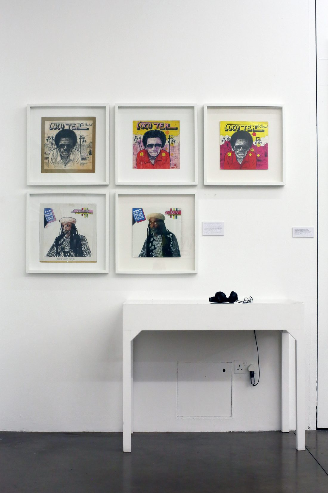 <p>Installation view of <em>In Fine Style: The Dancehall Art of Wilfred Limonious</em>, 2016. Photo: Simon Parris</p>