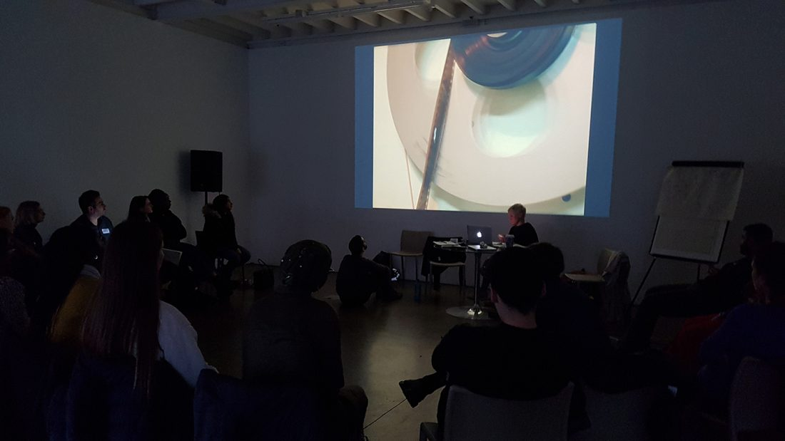 <p>REcreative Film School 2017 session with artist Frances Scott, November 2017</p>