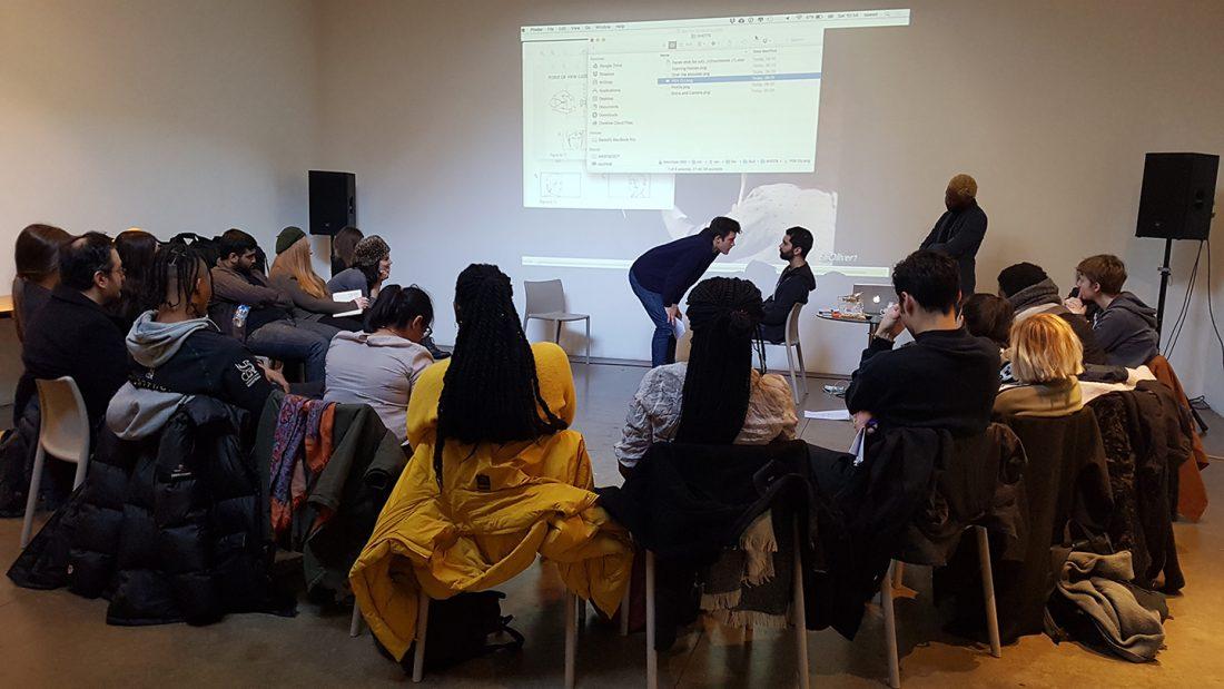 <p>REcreative Film School 2017 session with Director Joseph A. Adesunloye</p>