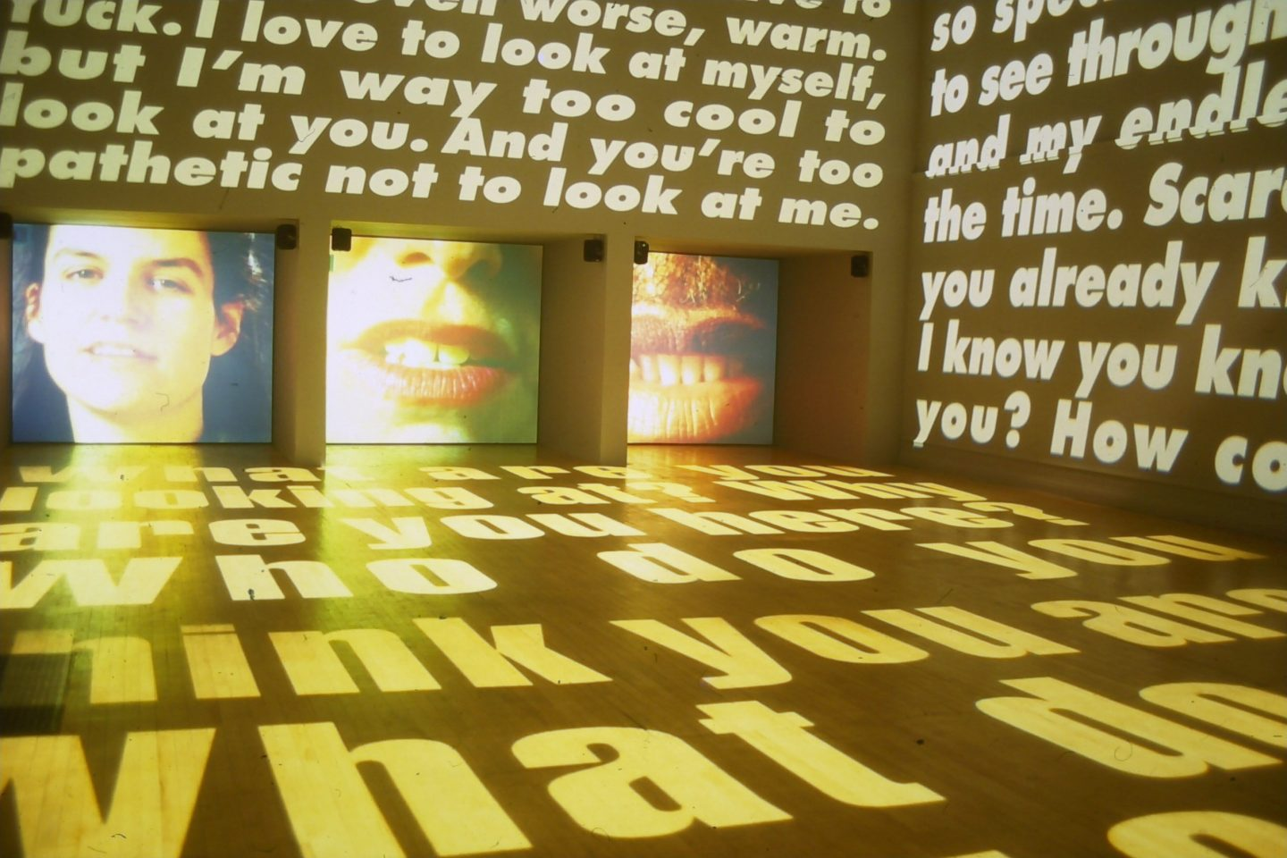 Barbara Kruger: Power Pleasure Desire Disgust