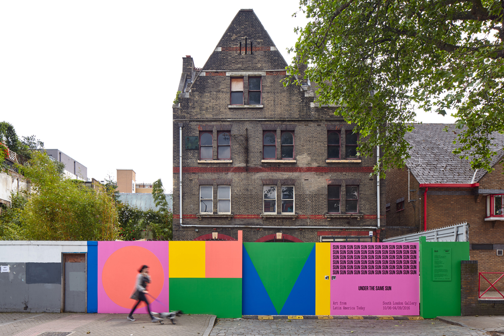 <p>View of the former Peckham Road Fire Station during <em>Under the Same Sun: Art from Latin America Today</em>, 2016. Courtesy: Solomon R. Guggenheim Foundation and the South London Gallery. Photo: Andy Stagg</p>
