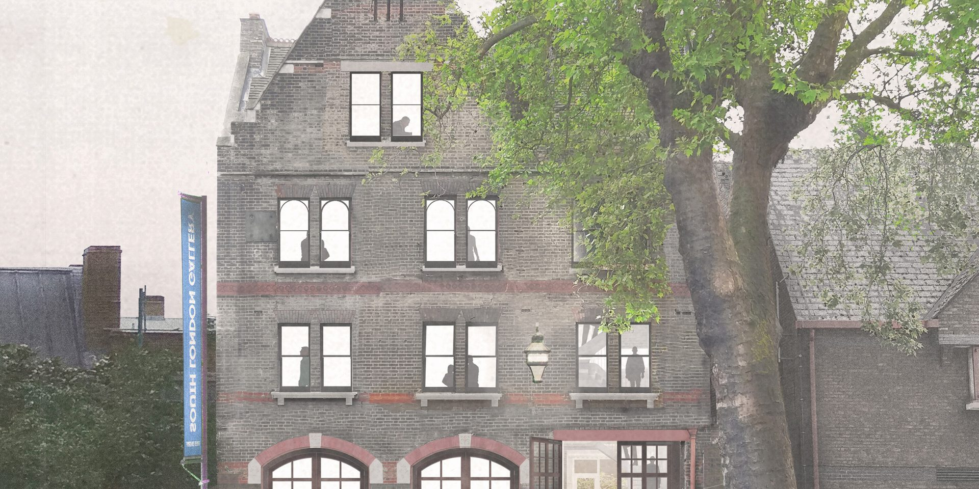 Visualisation of the Former Peckham Road Fire Station