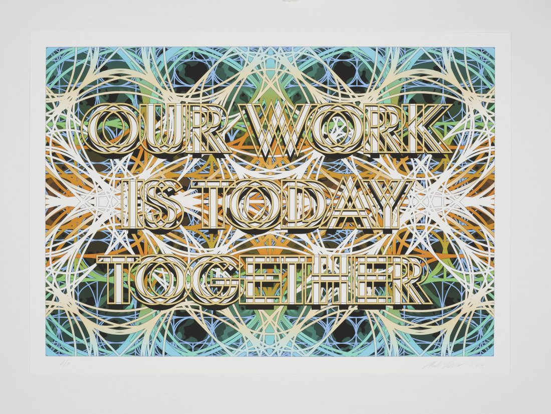 Mark Titchner – Study For Sceaux Gardens TRA Hall, 2014