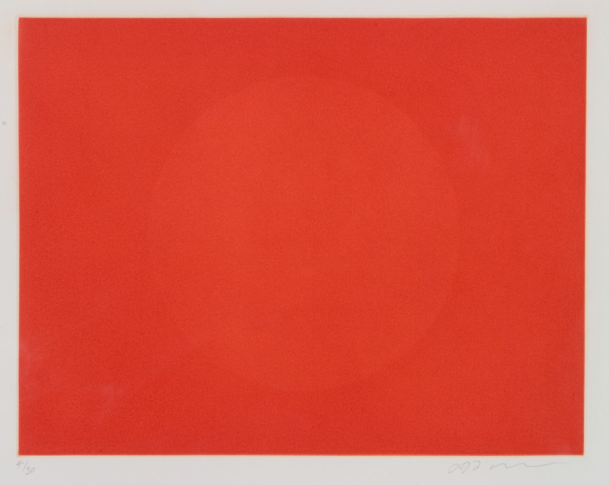 <p>Anish Kapoor, <em>untitled 4,</em> 1994-95, etching</p>