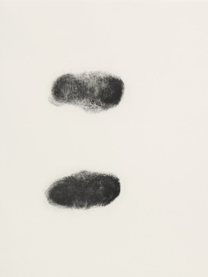 <p>Antony Gormley, <em>Body and Soul 2</em>, 1990, etchings on paper</p>