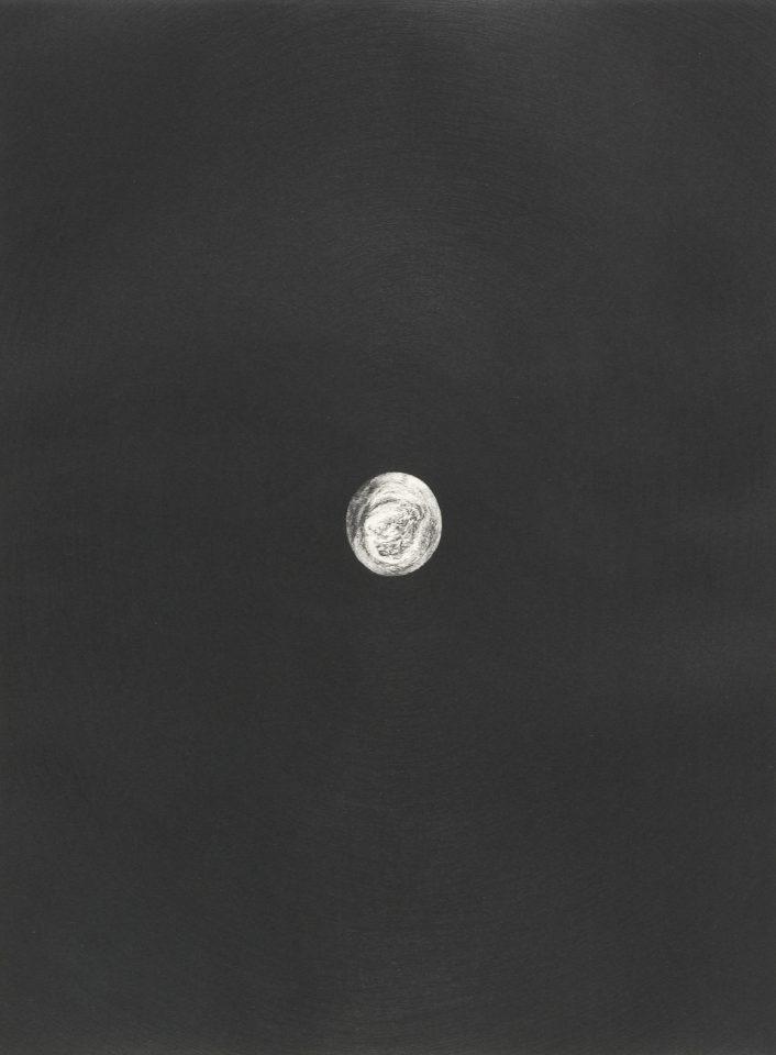 <p>Antony Gormley, <em>Body and Soul 5</em>, 1990, etchings on paper</p>