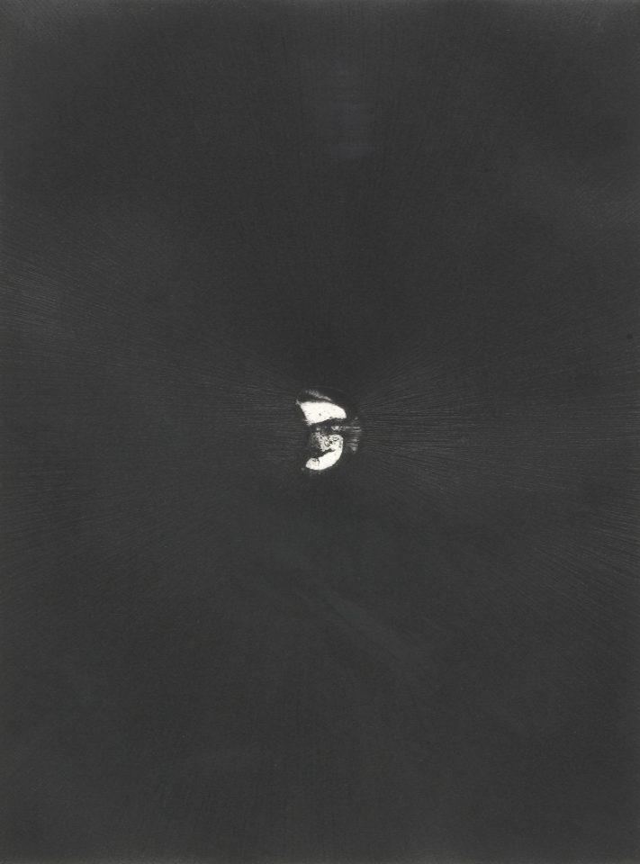 <p>Antony Gormley, <em>Body and Soul 9</em>, 1990, etchings on paper</p>