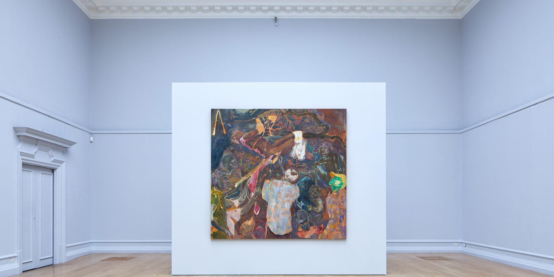 Michael Armitage The Chapel, Installation View.