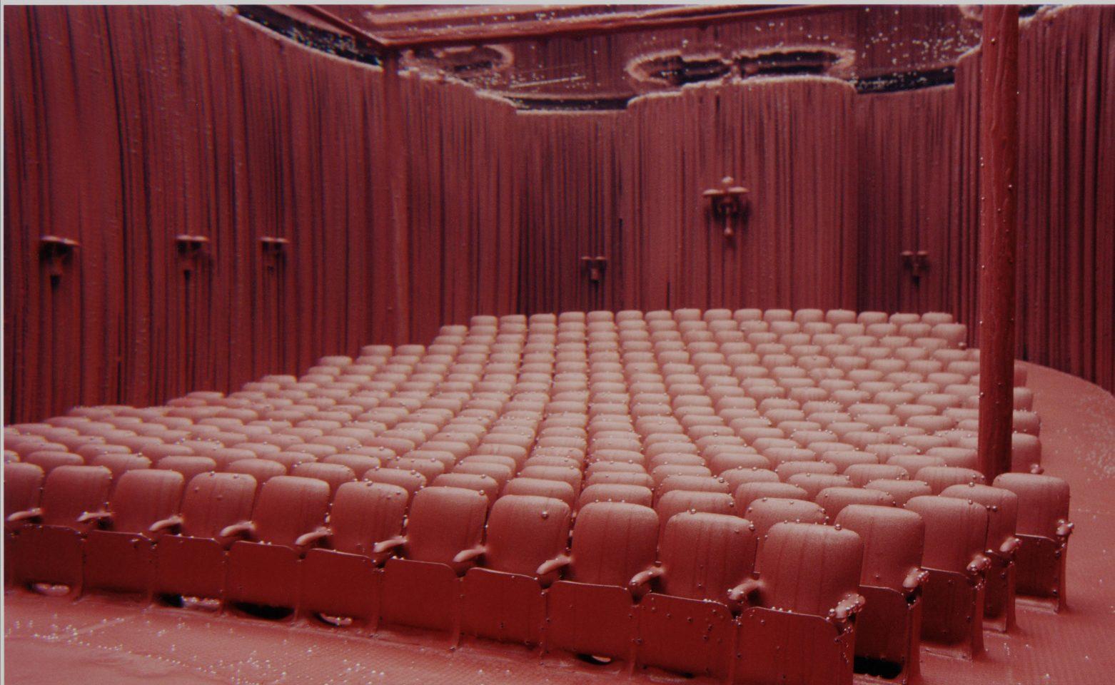 <p>Saskia Olde Wolbers,<em>Trailer</em>, video still, 2005, Single channel video projection</p>