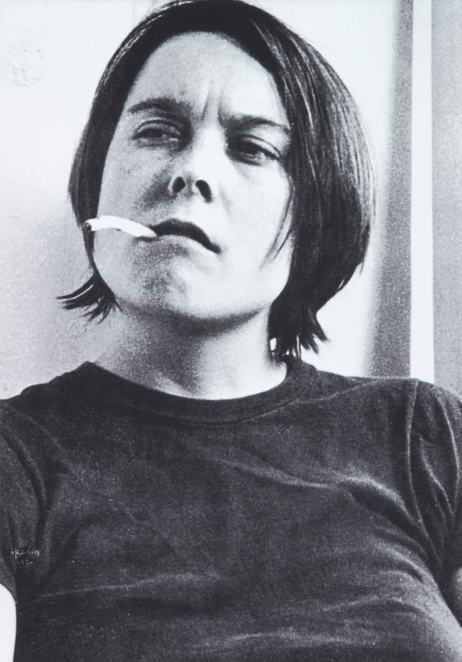 <p>Sarah Lucas, Fighting Fire with Fire, 1996, iris prints on paper</p>