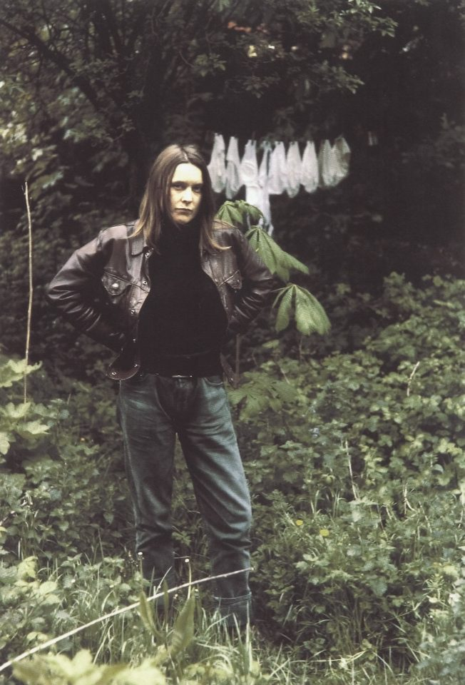 <p>Sarah Lucas, Self Portrait with Knickers, 1994, iris prints on paper</p>