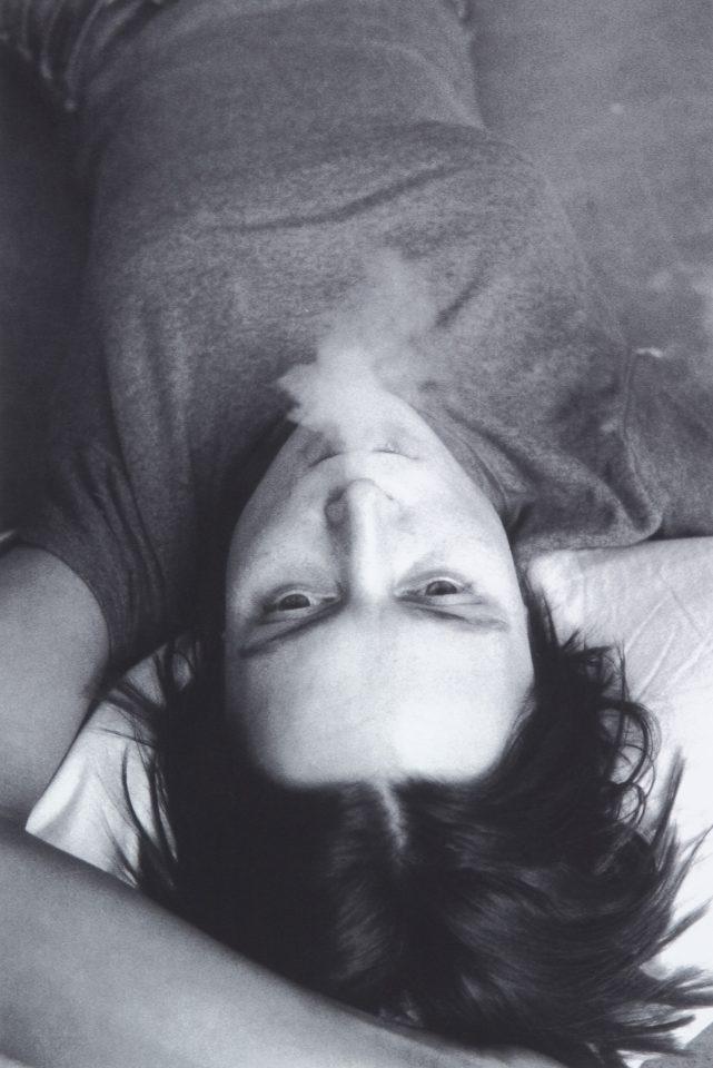 <p>Sarah Lucas, Smoking, 1998,iris prints on paper</p>