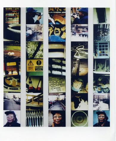 <p>Stephen Willats, <em>Creating My Own Journey, November 1998/April 1999,</em>1999, photo montage</p>