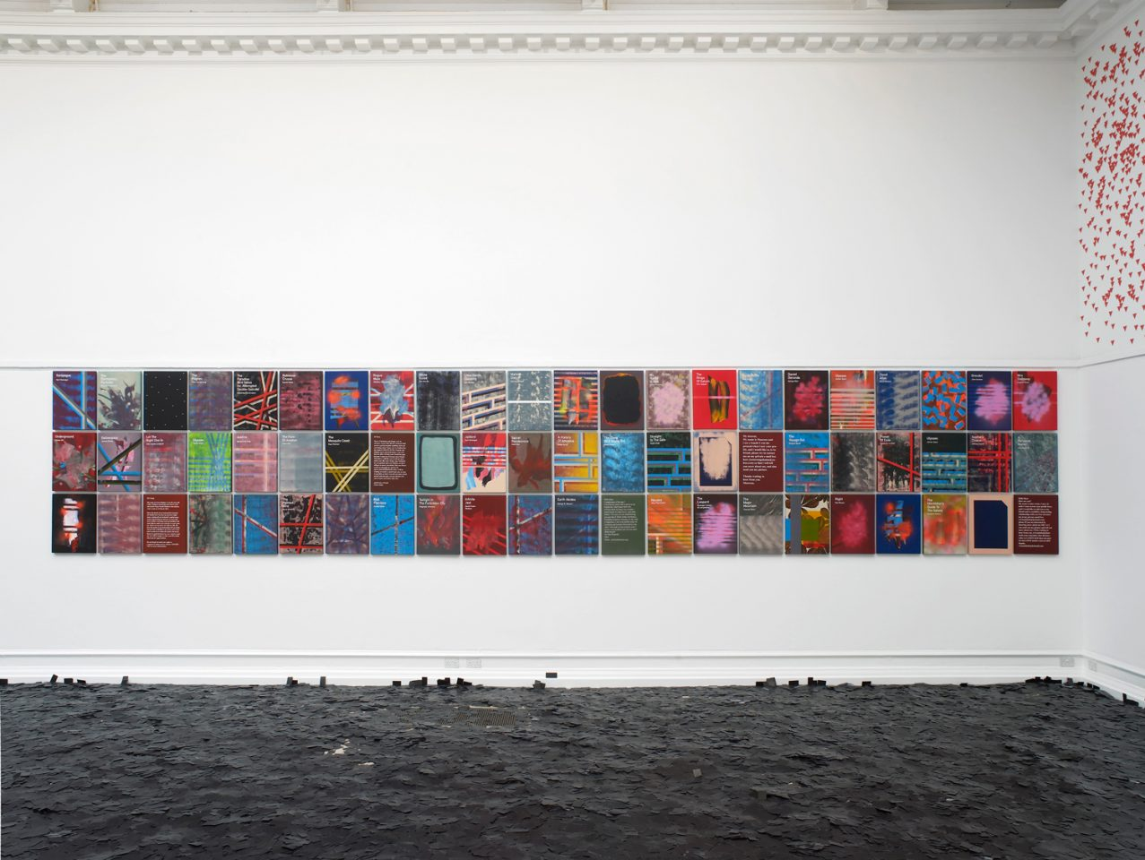 Installation view of Heman Chong's, An Arm, A Leg and Other Stories, 2015 in the Main Galleries. Courtesy the artist and Wilkinson Gallery. Photo: Andy Keate