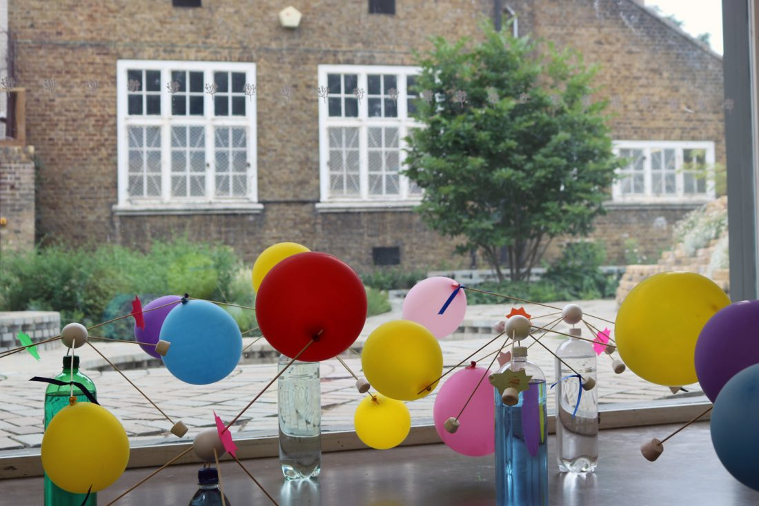 <p>The Schools' Exhibition: Jack Petchey Start Programme in the Clore Studio, 2017</p>