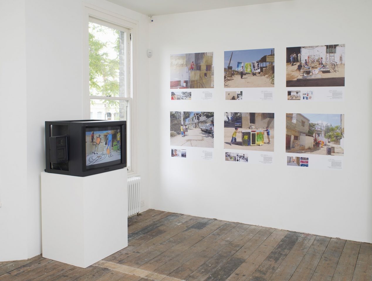 Installation view of Febrik's 2012 Play, I Follow You in the First Floor Galleries. Photo: Andy Keate