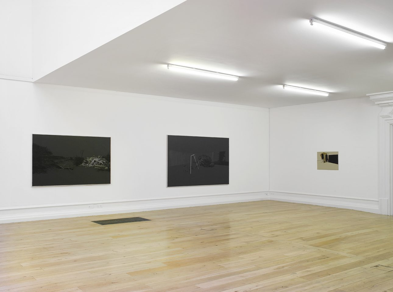 Installation view of Tatiana Trouvé 's 2010 exhibition. Photo: Andy Keate