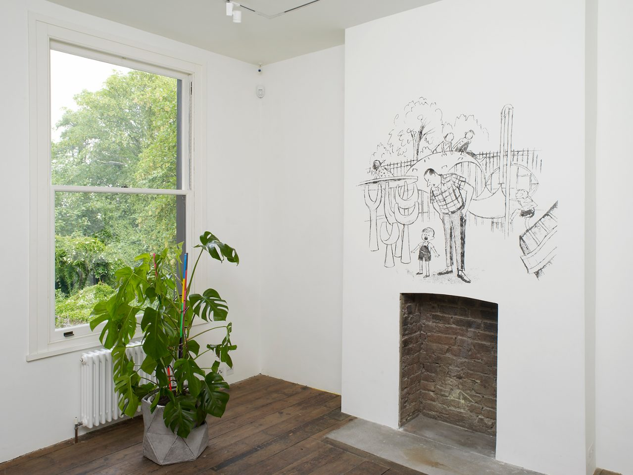 Installation view from Simon & Tom Bloor's 2011 exhibition Happy Habitat Revisited. Photo: Andy Keate