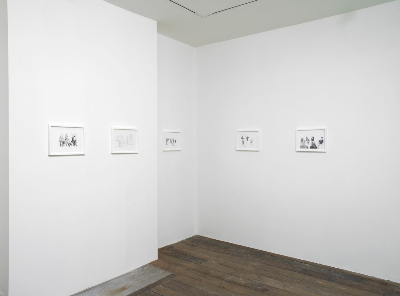 Installation view of Edward Thomasson's 2012 exhibition Inside in the First Floor Galleries. Photo: Andy Keate