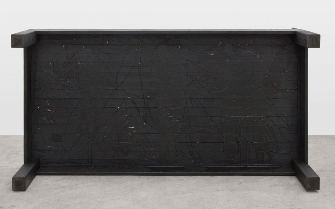 <p>Rashid Johnson, <em>Daybed</em>, 2012. Photo: Martin Parsekian. Image courtesy the artist and Hauser & Wirth.</p>