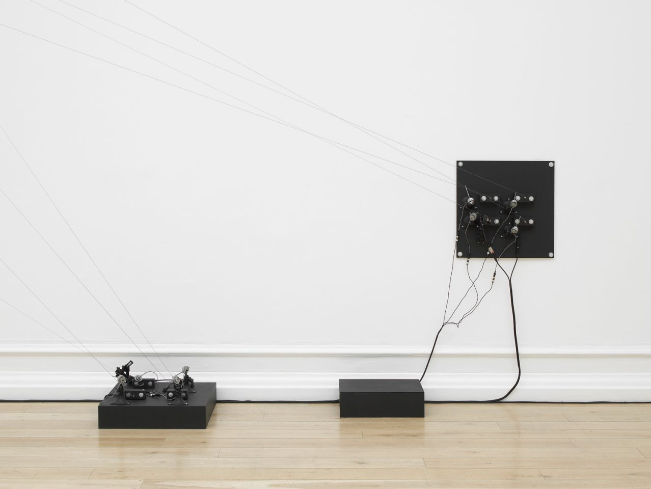 Installation view of At the Moment of Being Heard in the Main Galleries, 2013. Photo: Andy Keate