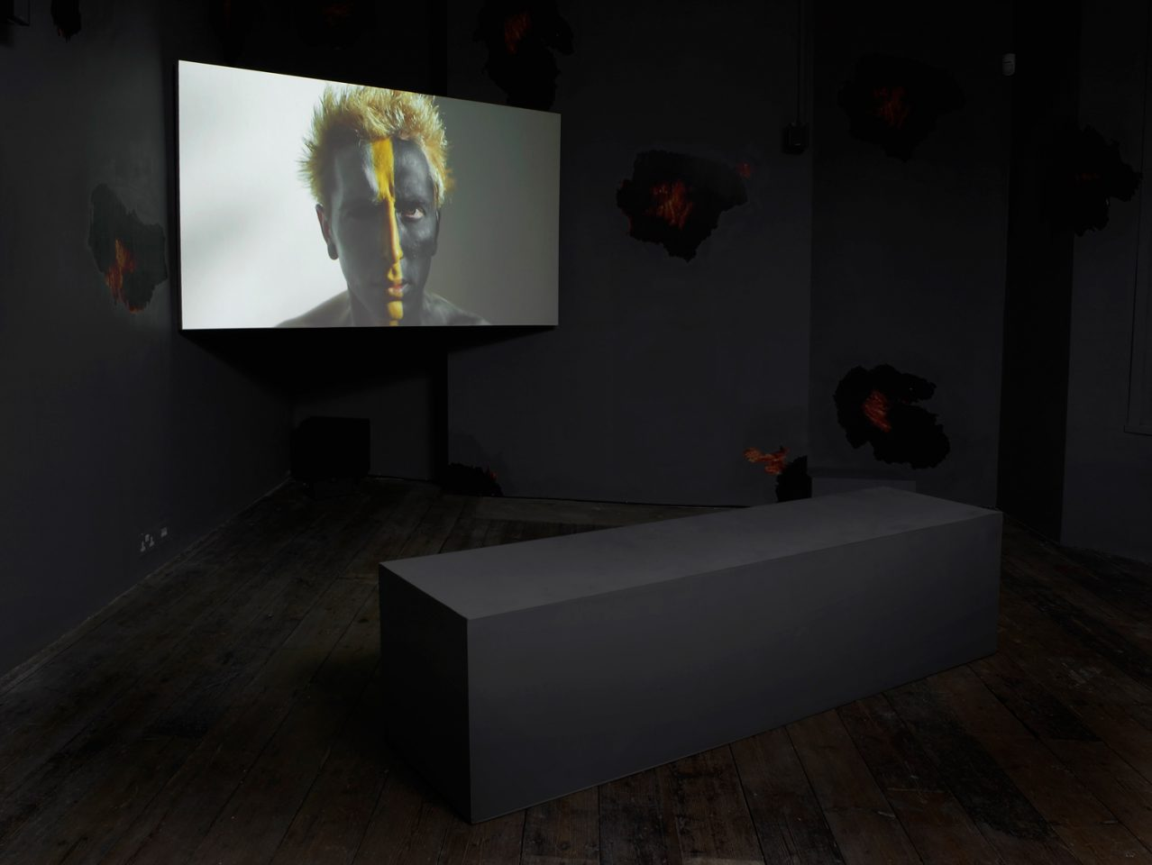 Installation view of Eoghan Ryan's 2013 exhibition Oh wicked flesh! in the First Floor Galleries. Photo: Andy Keate