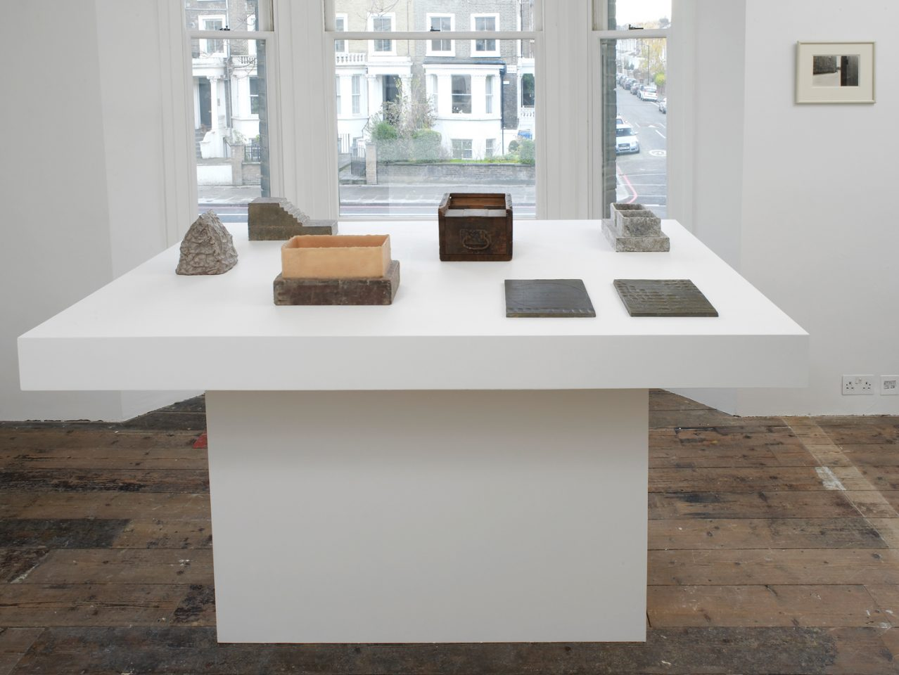 Installation view of Richard Fleishner's 2013 exhibition. Photo: Andy Keate