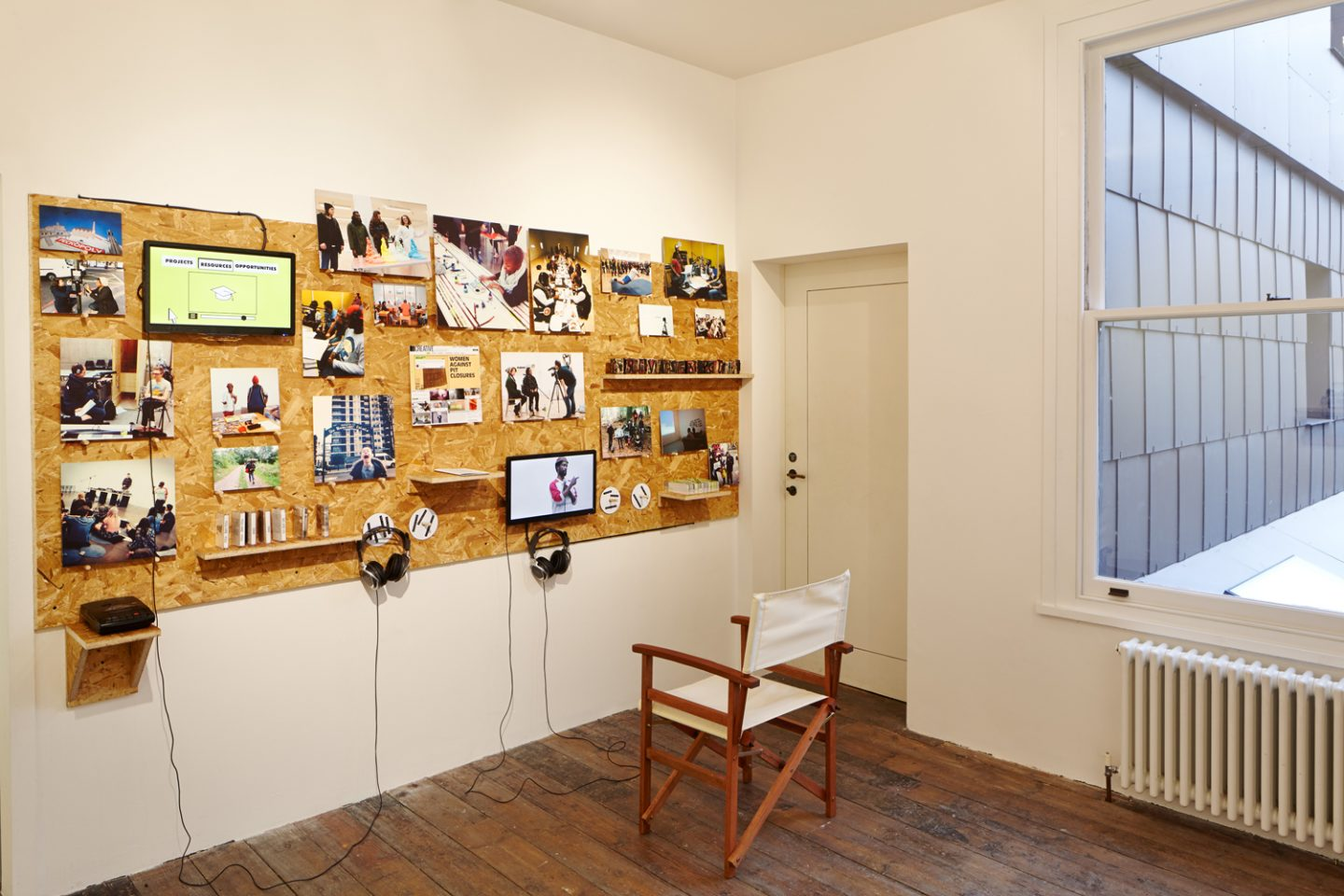 Installation view from Invisible Hours, 2014. Photo: Andy Stagg