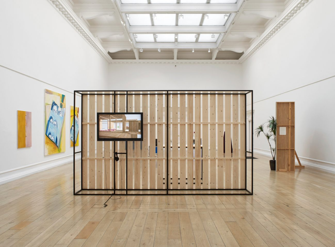 Installation view of Last Seen Entering the Biltmore, in the Main Galleries, 2014. Photo: Andy Keate