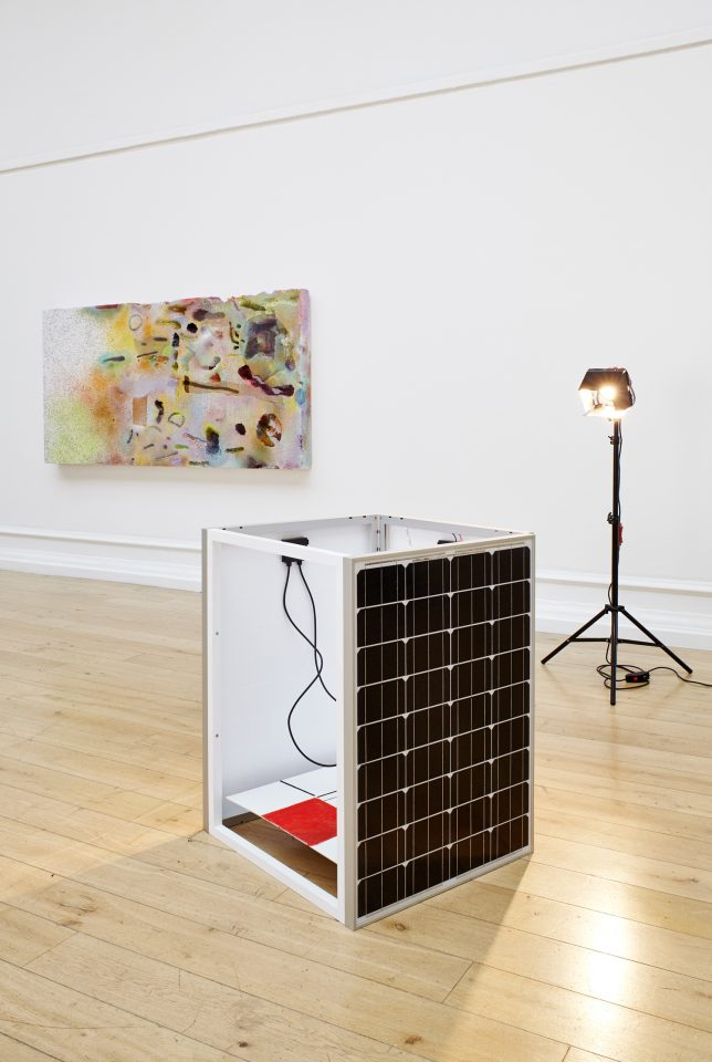 Installation view of Tomorrow London in the Main Galleries, 2014. Photo: Andy Stagg