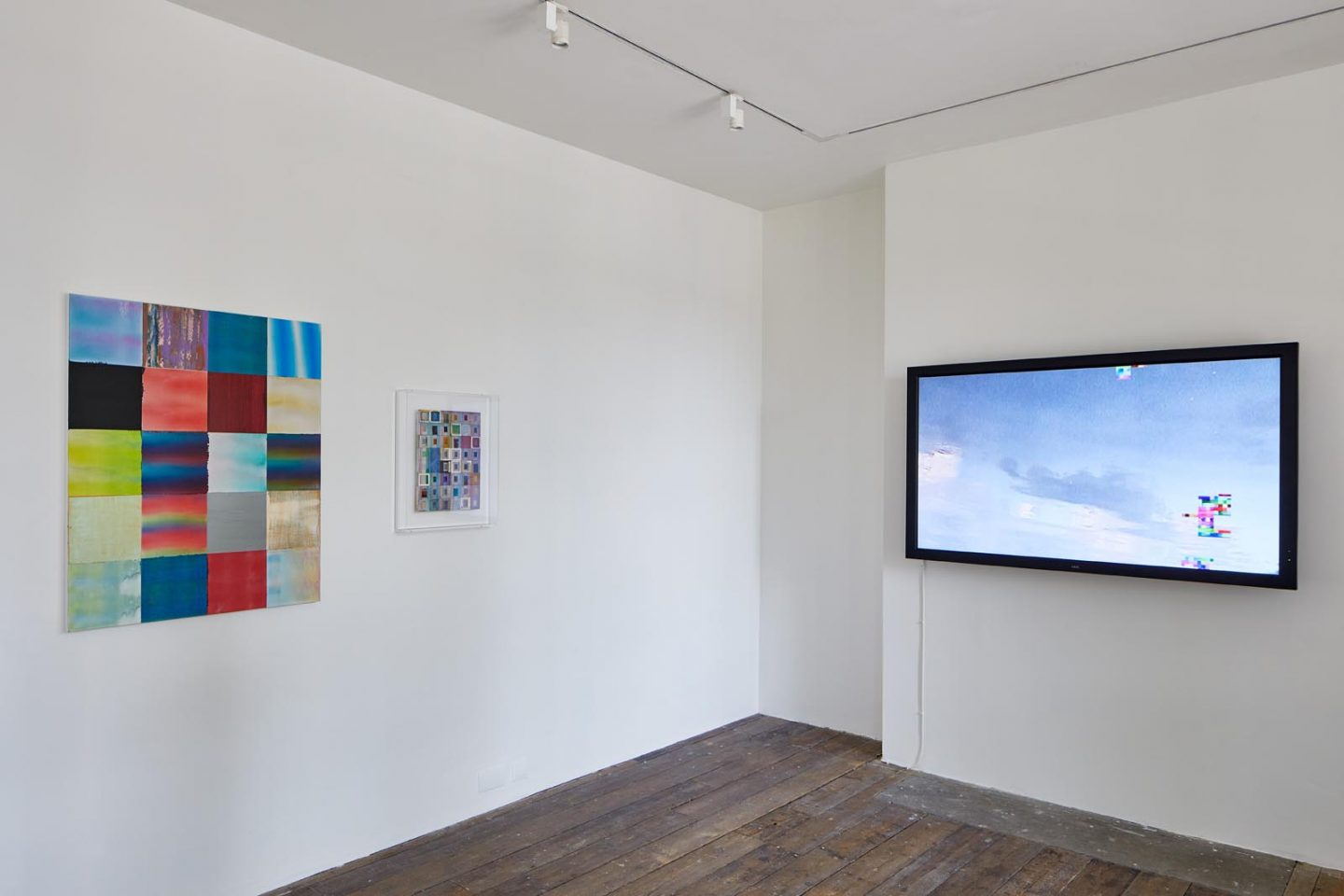 Luiz Zerbini, Intuitive Ratio, installation view at the South London Gallery, 2018. Photo: Andy Stagg