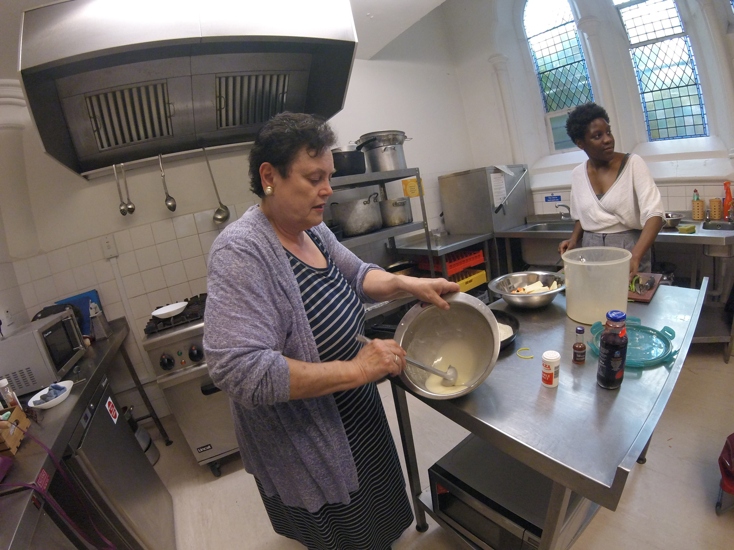 Cooking workshop at the Copleston Centre