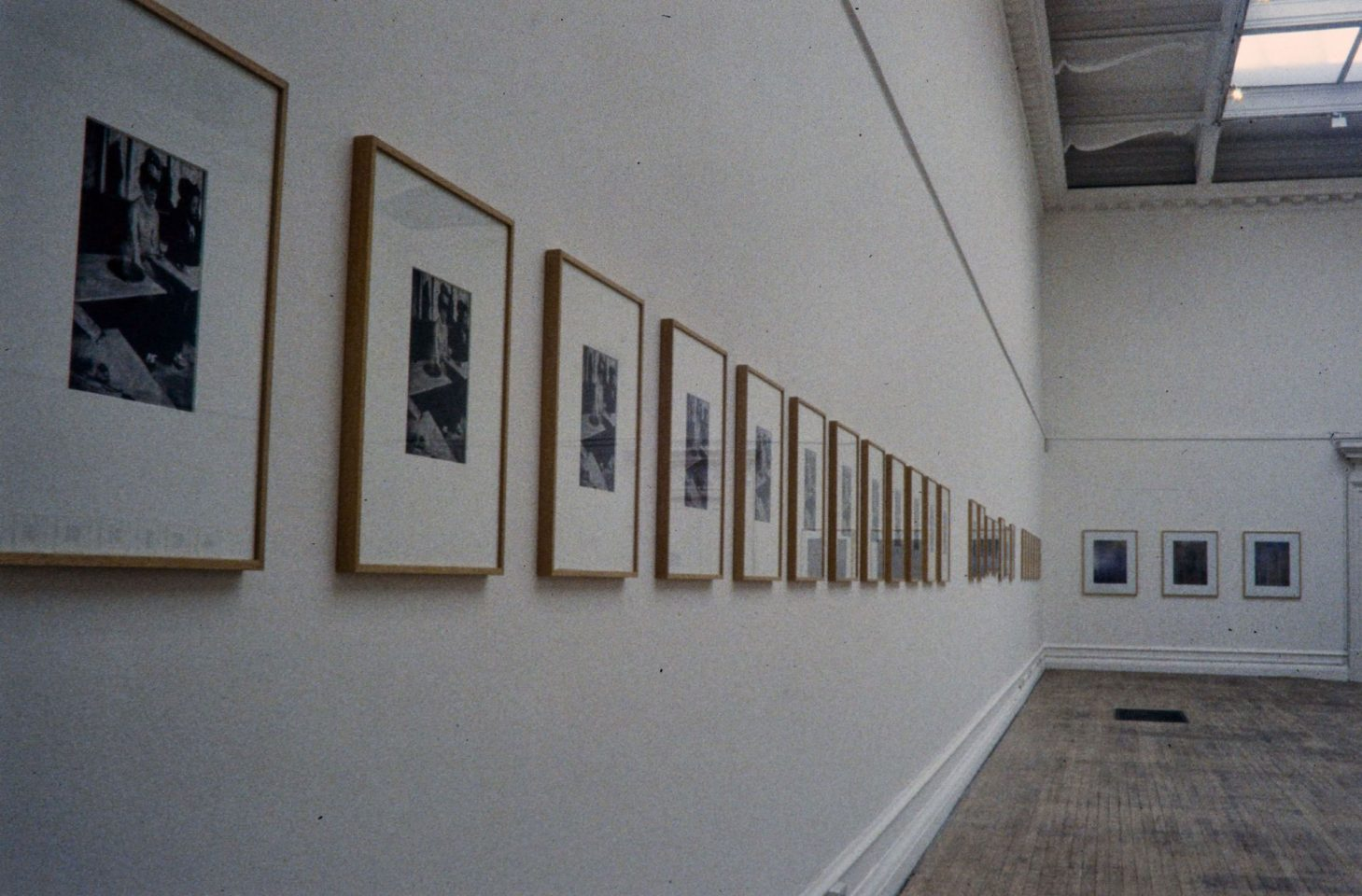 Installation view of Sherrie Levine's 1996 exhibition New Photography.