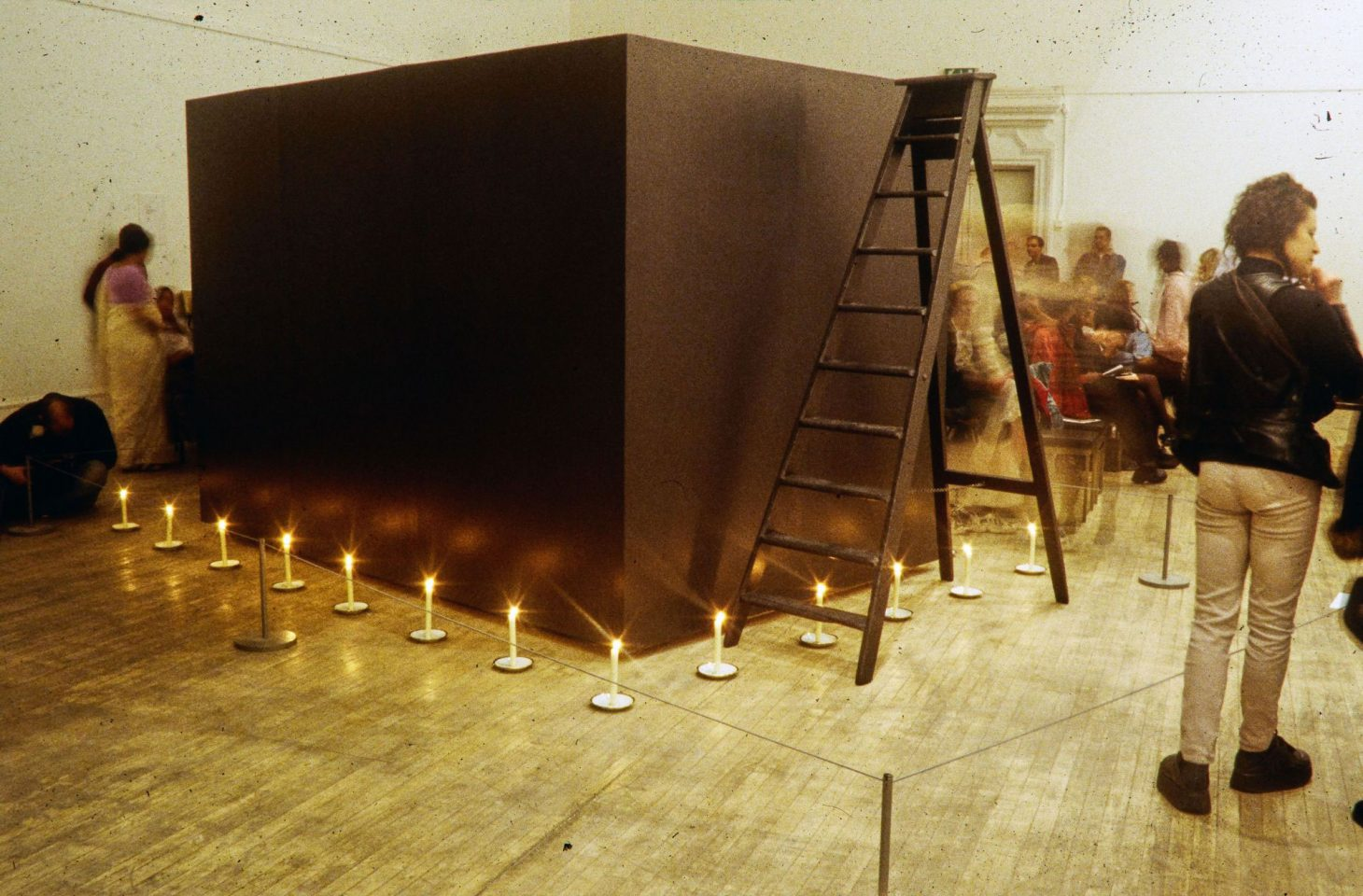 Installation view from 1998 group exhibition, Parallel Universe.