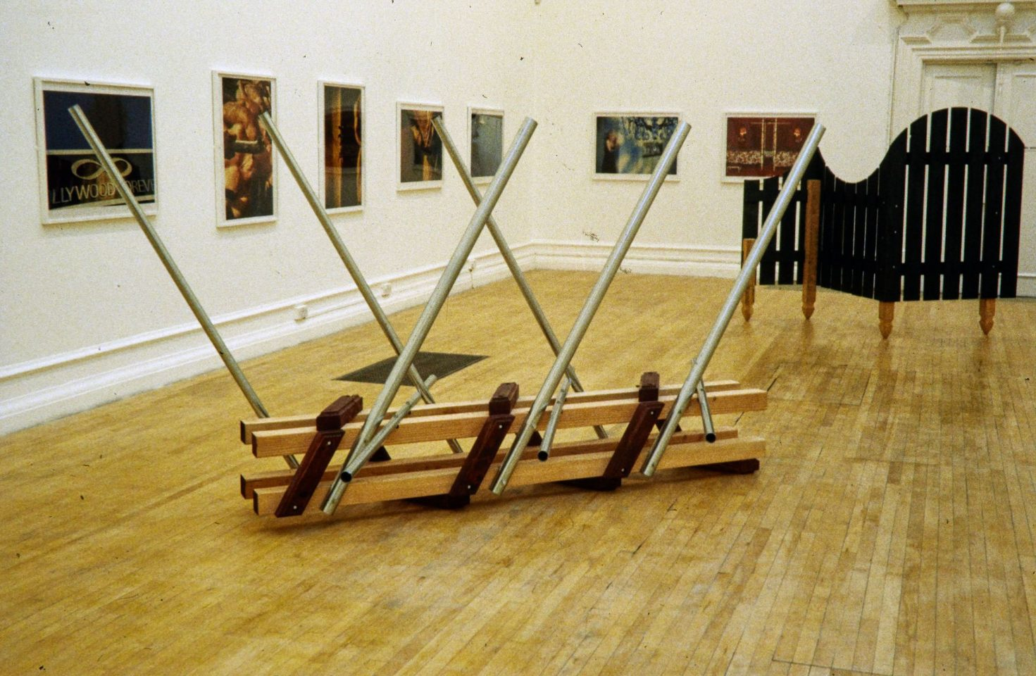 Installation view from 1999 exhibition Drive By: New Art from LA.